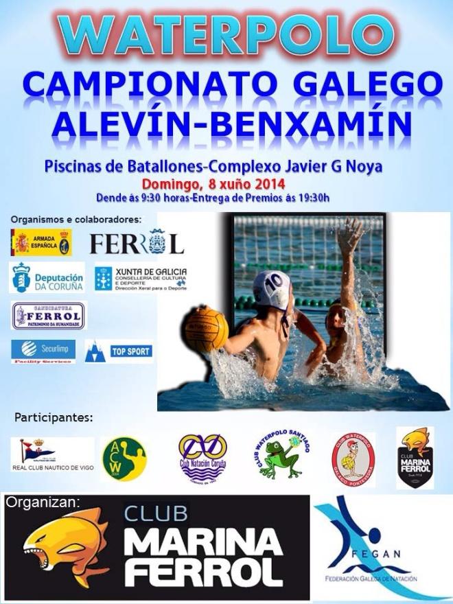 CAMPEONATO GALEGO ALEVÍN-BENXAMÍN DE WATERPOLO