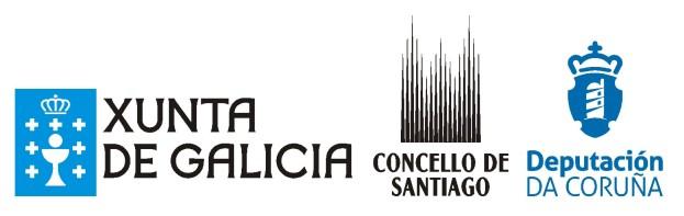 Xunta de Galicia, Concello de Santiago, Deputacón da Coruña