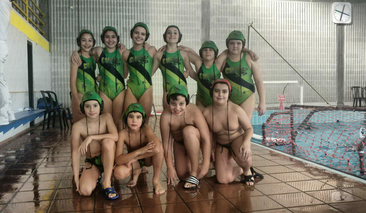 Alevin B Mixto Club Waterpolo Santiago