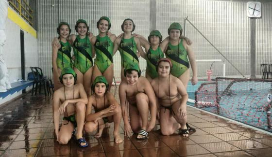 Alevin B Mixto Club Waterpolo Santiago