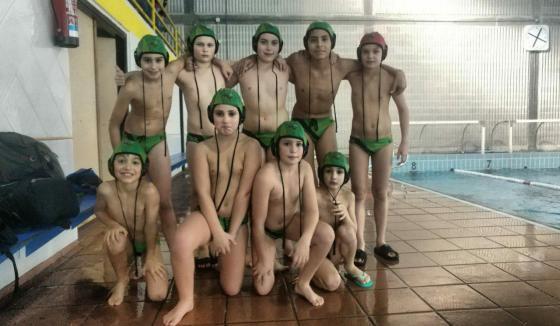 Equipo Alevin A Club Waterpolo Santiago